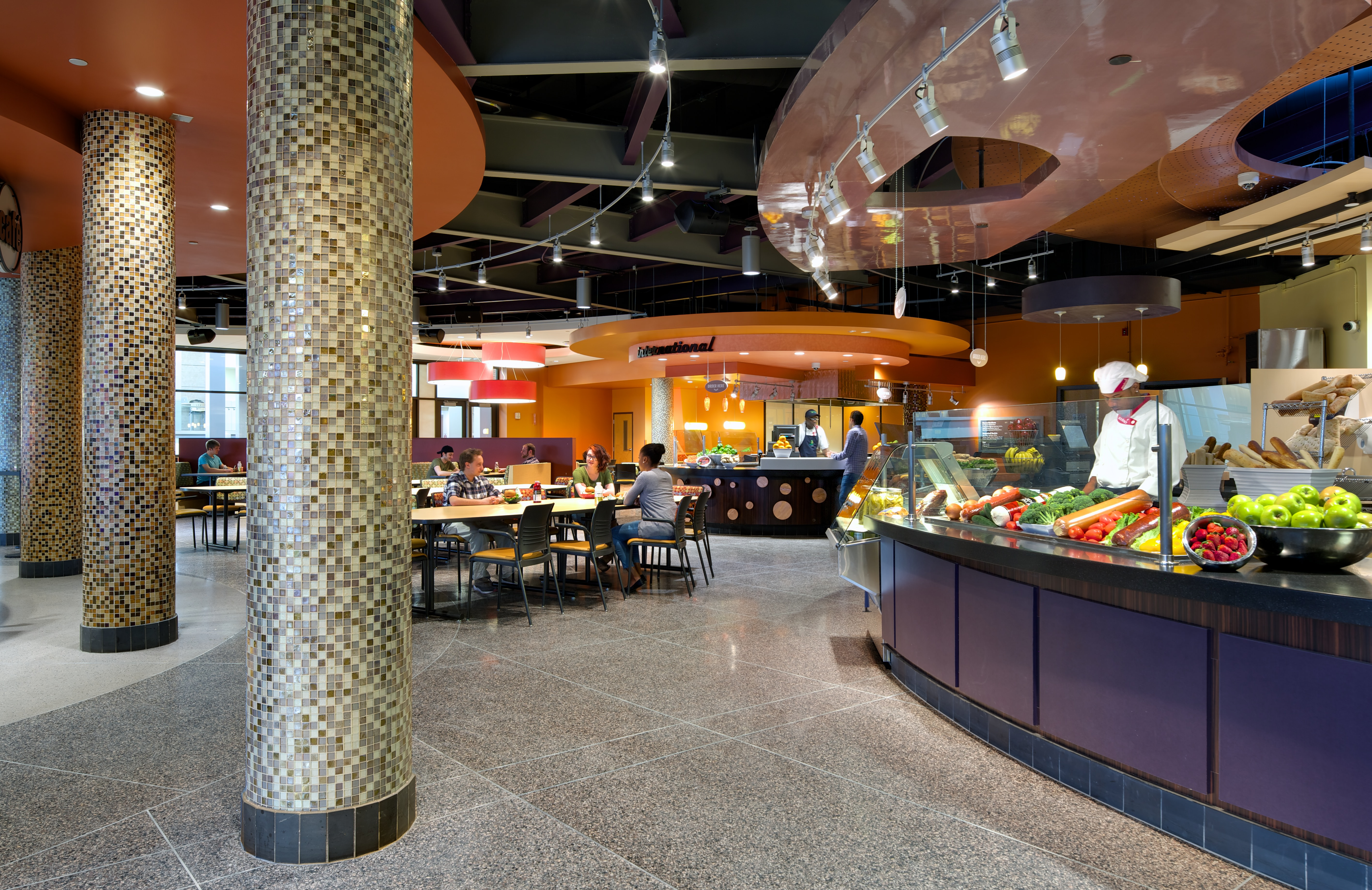 Binghamton Dining Commons Connor Architecture